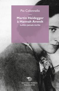 Martin Heidegger à Hannah Arendt ePub