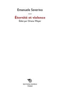 Éternité et violence ePub