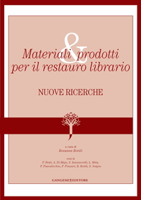 Materiali e prodotti per il restauro librario