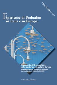 Esperienze di Probation in Italia e in Europa