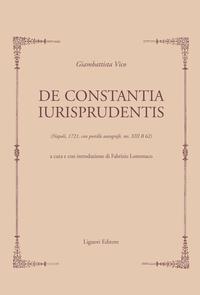 De Constantia Iurisprudentis