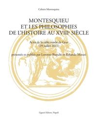 Montesquieu et les philosophies de l'histoire au XVIIIe siècle