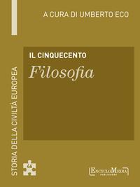Il Cinquecento - Filosofia ePub