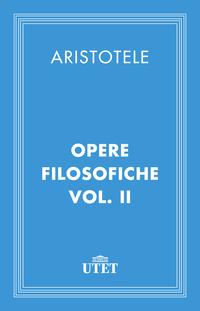 Opere filosofiche. Vol. II ePub