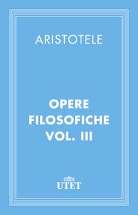 Opere filosofiche. Vol. III ePub