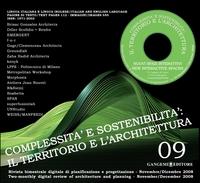 Complessità e sostenibilità: il territorio e l'architettura n. 09/2008