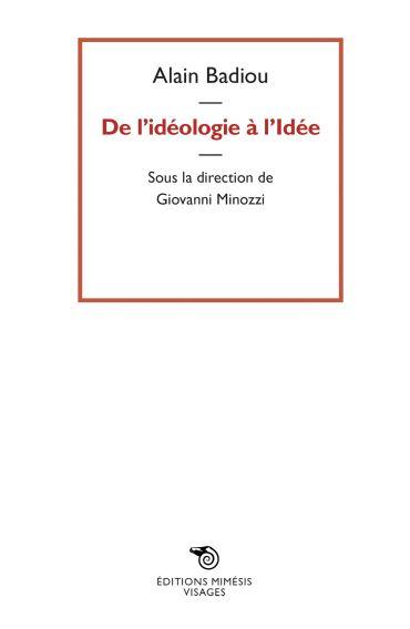 De l'idéologie à l'idée ePub