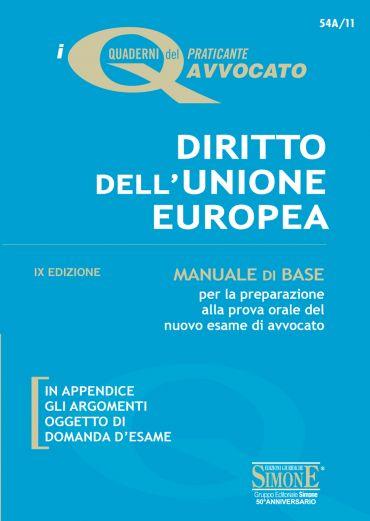 I Quaderni del praticante Avvocato - Diritto dell'Unione Europea