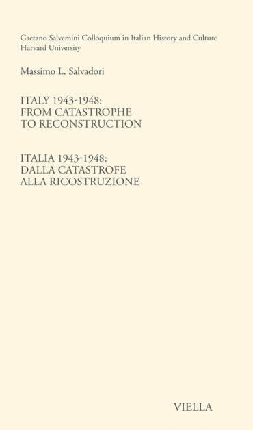 Italy 1943-1948: From catastrophe to reconstruction ePub