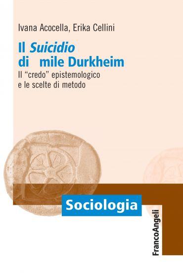 Il suicidio di Emile Durkheim