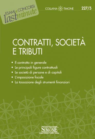 Contratti, Società e Tributi