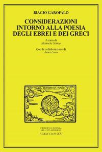 Considerazioni intorno alla poesia degli Ebrei e dei Greci