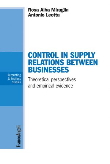 Control in supply relations between businesses. Theoretical pers