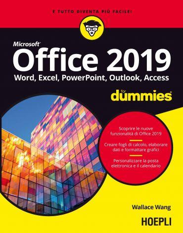 Office 2019 for dummies ePub