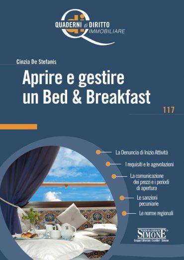 Aprire e gestire un Bed e Breakfast