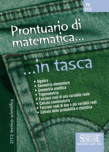 Prontuario di Matematica... in tasca - Nozioni essenziali