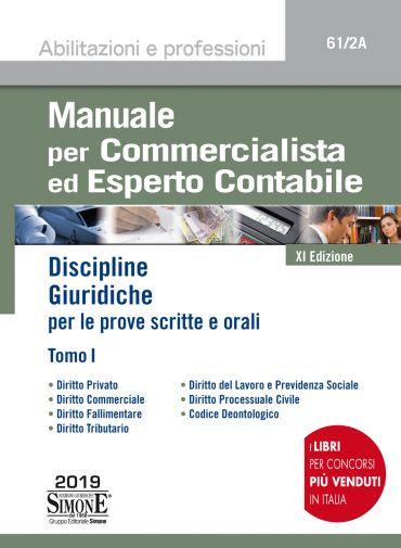 Manuale per Commercialista ed Esperto Contabile - Tomo I
