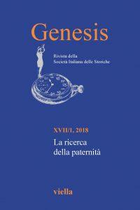 Genesis. Rivista della Società italiana delle storiche (2018) Vo