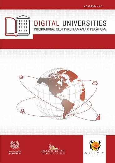 Digital Universities V.3 (2016) n. 1