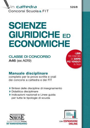Scienze giuridiche ed economiche - Classe di concorso A46 (ex A0