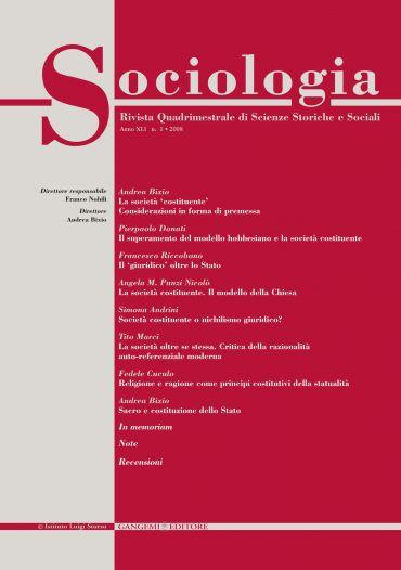 Sociologia n. 1/2008