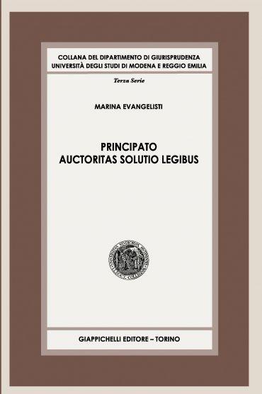 Principato auctoritas solutio legibus