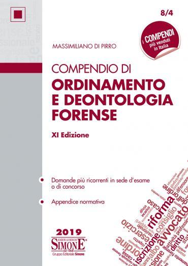 Compendio di Ordinamento e Deontologia Forense ePub