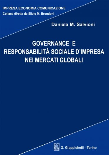 Governance e responsabilità sociale d'impresa nei mercati global