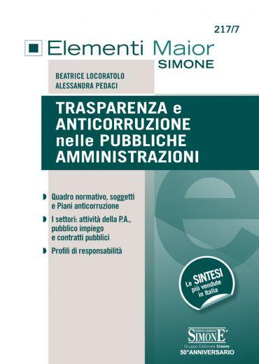 Trasparenza e Anticorruzione nelle Pubbliche Amministrazioni ePu