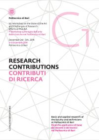 Contributi di Ricerca 1 - Research Contributions 1