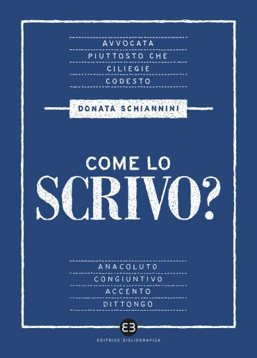 Come lo scrivo? ePub