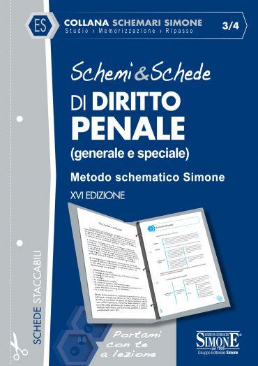 Schemi & Schede di Diritto Penale (generale e speciale)