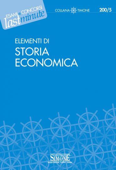 Elementi di Storia Economica