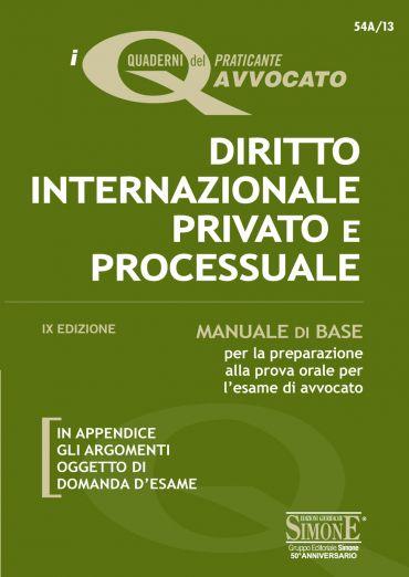 I Quaderni del praticante Avvocato - Diritto Internazionale Priv