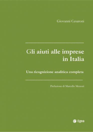 Gli aiuti alle imprese in Italia ePub