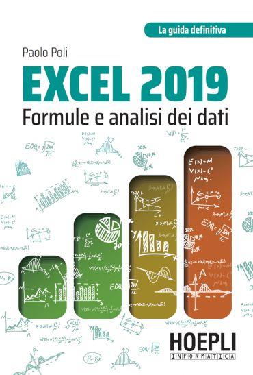 Excel 2019: formule e analisi dei dati ePub