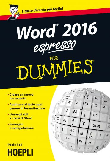 Word 2016 espresso For Dummies ePub