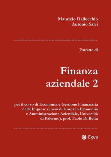 Estratto di Finanza aziendale 2