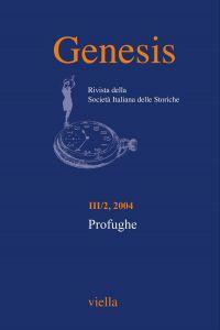 Genesis. Rivista della Società italiana delle storiche (2004) Vo
