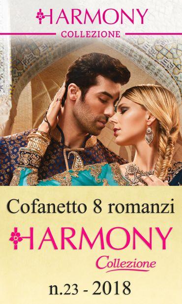 Cofanetto 8 Harmony Collezione n.23/2018 ePub