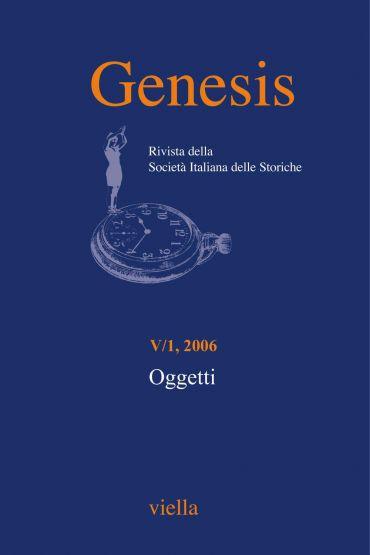 Genesis. Rivista della Società italiana delle storiche (2006) Vo