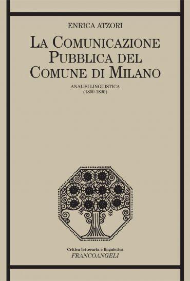 La comunicazione pubblica del Comune di Milano Analisi linguisti