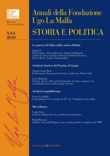 Annali della Fondazione Ugo La Malfa XXV - 2010 ePub