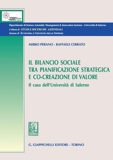 Il bilancio sociale tra pianificazione strategica e co-creazione
