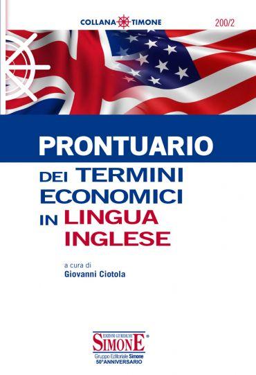 Prontuario dei termini economici in lingua inglese ePub