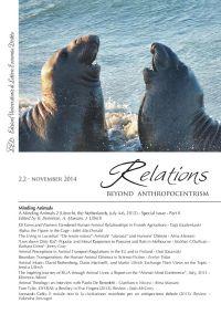 Relations. Beyond Anthropocentrism, 2.2 - November 2014