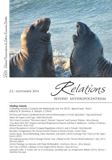 Relations. Beyond Anthropocentrism, 2.2 - November 2014