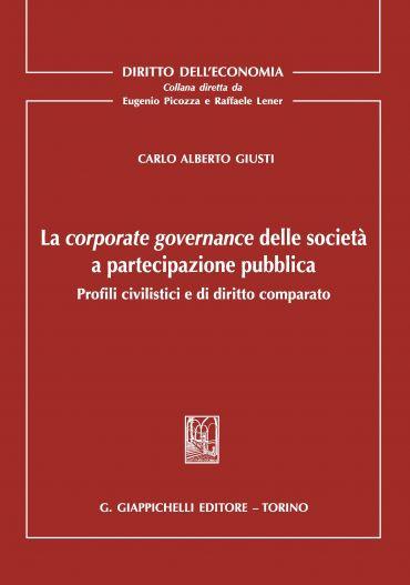 La corporate governance delle società a partecipazione pubblica
