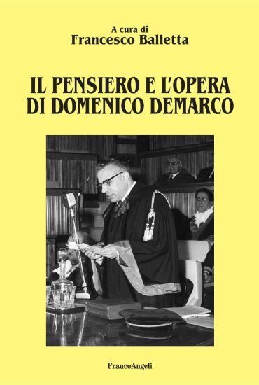 Il pensiero e l'opera di Domenico Demarco