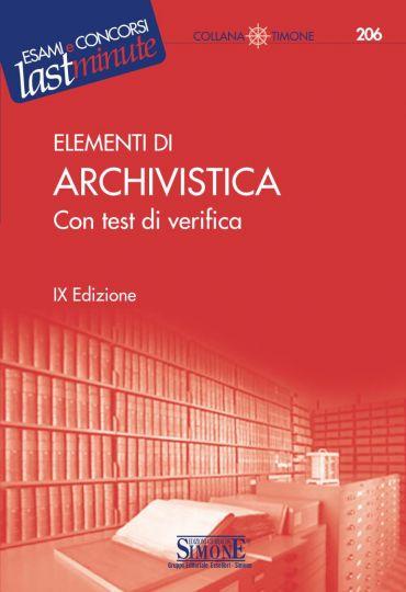 Elementi di Archivistica